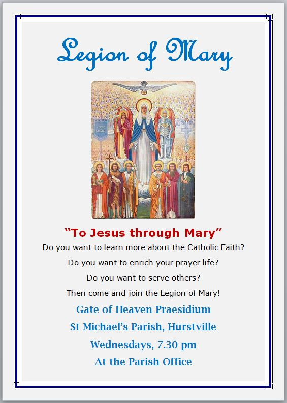 7 Legion of Mary